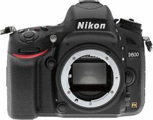 Nikon D600 Body and Battery (No Lens) + 2x SD Cards 32 GB