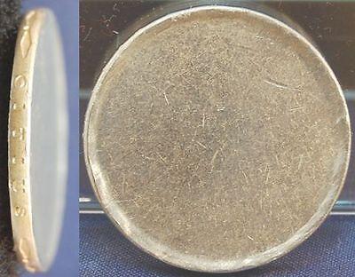 Rohling mit Randschrift der 10DM Gedenkmünze Olympiade 1972 J.401 vz, Arabesken