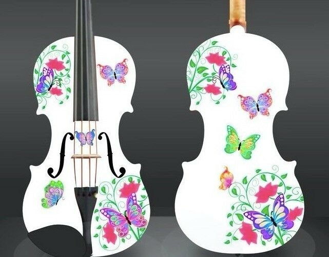 Designers white butterfly violins $698++