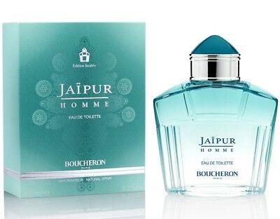 Boucheron Jaipur Homme Limited Edition Men Eau De Toilette 3.3 oz ~ 100 ml Spray
