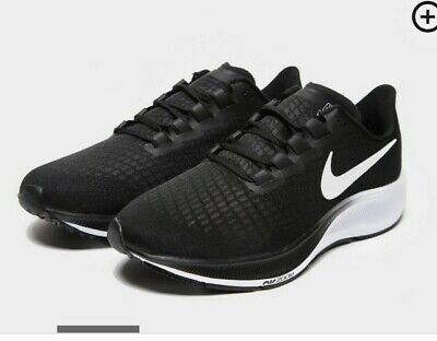 "Nike Air Zoom Pegasus 37 ""Black-White"" Men's Trainers in Size 9 UK."
