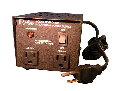 Phc 300 Watts Isolation Transformer 120 Volt Ac Input 120 Volt Ac Output