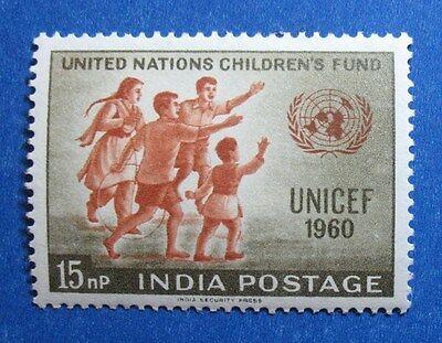 1960 INDIA 15NP SCOTT# 334 S.G.# 432 UNUSED  CS11671
