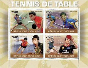 Table Tennis Masters m/s Togo 2010 MNH Mi. 3619-22 #TG10308a - Olsztyn, Polska - Table Tennis Masters m/s Togo 2010 MNH Mi. 3619-22 #TG10308a - Olsztyn, Polska