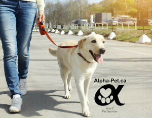 Alpha-Pet.ca A-to-Z Pet Services and Dog Walking