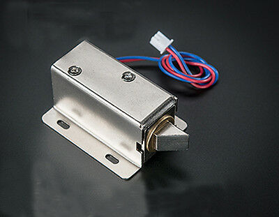 Electric Cabinet Door Lock Drawer Deadbolt Locksmith New 1pc Dc 12v