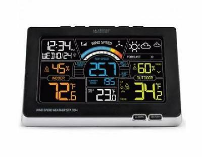 La Crosse Wireless Wind Speed Weather Station with Temp Humidity and Heat Index