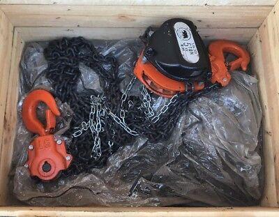 Brand New Black Bear Yb500 5 Ton Chain Hoist Cm Yale