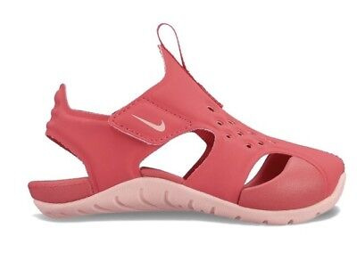NIKE Sunray Protect 2 LITTLE Girls Sandal Tropical Pink 943828-600 $38 Sz 1Y-3Y