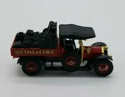 Matchbox 1918 Crossley R.A.F. Tender Coal & Coke Y-13 Models Of Yesteryear 1973