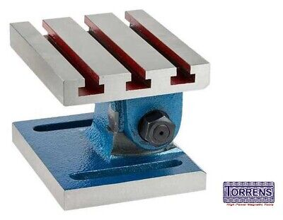 Adjustable Swivel Angle Plate 6 X 8 -150x200mm High Quality Cast Iron