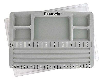 """Beadsmith Travelers Bead Board - with plastic cover 7.75"""" x 11.25"""" (bstbb01)"""