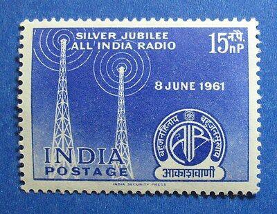 1961 INDIA 15NP SCOTT# 342 S.G.# 440 UNUSED  CS11692