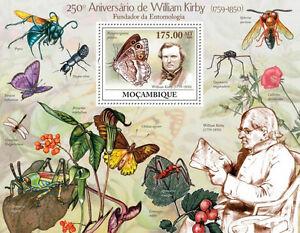 William Kirby Entomologist Butterflies Mozambique 2009 s/s MNH Sc.1919 #MOZ9217b - <span itemprop='availableAtOrFrom'>Olsztyn, Polska</span> - William Kirby Entomologist Butterflies Mozambique 2009 s/s MNH Sc.1919 #MOZ9217b - Olsztyn, Polska