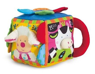 Melissa and Doug Muscial Farmyard Cube # 9177 BRAND NEW