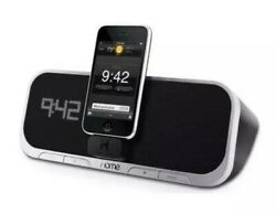 iHome iA5 App-Enhanced Alarm Clock Speaker System iPhone Dock Charger
