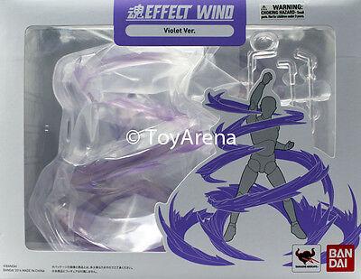 Tamashii Effect Wind Violet Purple Version Stand Base Stage S.H Figuarts (Ban Degree)