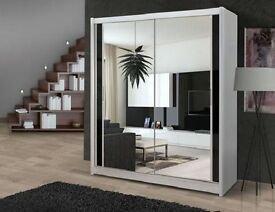 * Special Offer * BRAND NEW Large FullY Mirror Door Sliding DOOR Wardrobe + MADE IN GERMANY