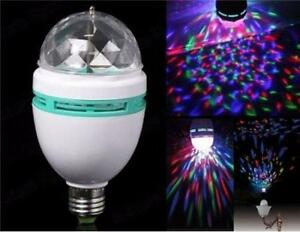Music control with LED MINI PARTY LIGHT colorful rotating lamp RGB stage lamp for basement party