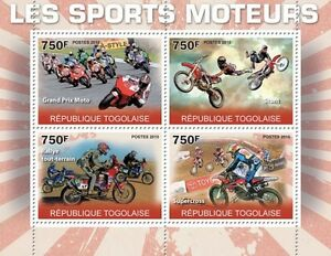Motor sports Grand Prix Cross Rally motorcycles ms Togo 2010 Mi.3644-47 TG10313a - <span itemprop='availableAtOrFrom'>Olsztyn, Polska</span> - Motor sports Grand Prix Cross Rally motorcycles ms Togo 2010 Mi.3644-47 TG10313a - Olsztyn, Polska