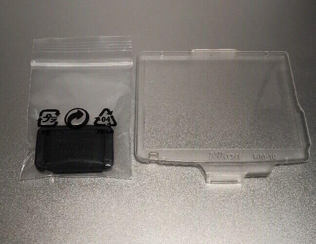 Genuine Nikon BM-10 LCD Cover DK-5 Eyepiece Cover For Nikon D90