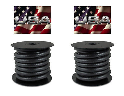 """5/16"""" 3/8"""" x  25' Rolls FUEL LINE GAS HOSE 2 ROLLS  Thermoid PRIORITY SHIPPING"""