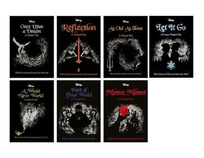 Disney A Twisted Tale 7 Books Collection Set New Pack - All 7 books - Brand New