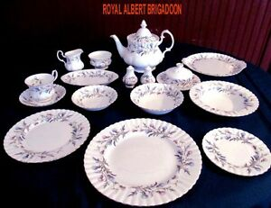 ROYAL ALBERT CHINA - BRIGADOON