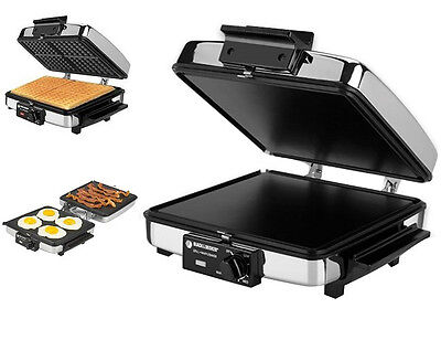 Grilled Sandwich Maker Press Toaster Breakfast Waffle