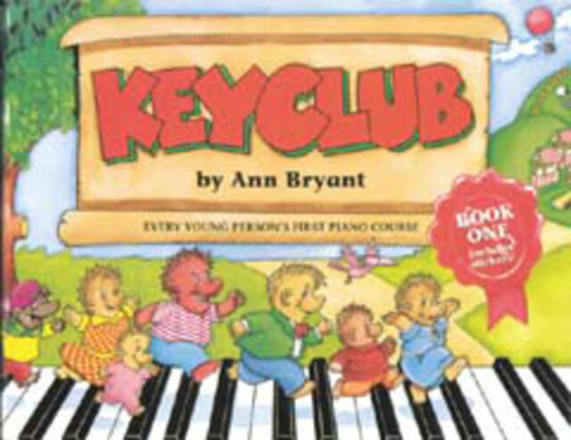 Keyclub Pupil's Book 1 (piano); Bryant, Ann, 0571531989, FABER - 571531989