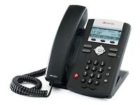 Polycom Soundpoint IP331 VolP - Office Telephones (15 available)