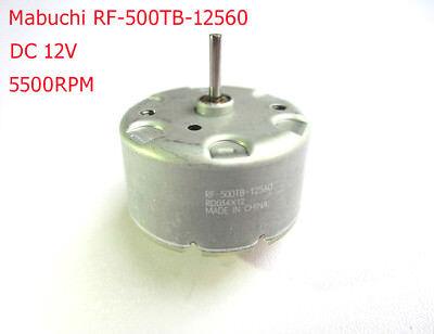 Mabuchi Rf-500tb-12560 Dc 12v Motor Rf-500 Dc 1.5v 12v Solar Motor