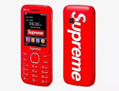 Supreme Blu Burner Phone Red - Sealed BRAND NEW