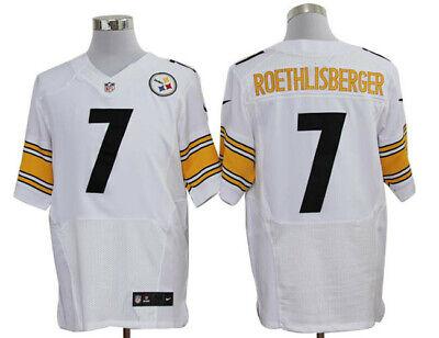 ROETHLISBERGER camiseta de la NFL STEELERS color blanca.Talla S.