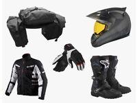 looking for free motorbike gear