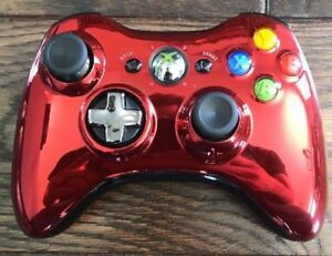 Xbox 360 Chrome Series Limited Edition Wireless Controller *Red*