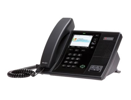Qty: 10 - POLYCOM CX600 DESKTOP OFFICE IP PHONE HANDSET FOR MICRO