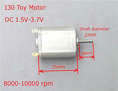 Dc 1.5v 3v 3.7v Dc Motor Type 130 Micro Toy Motor 25000rpm Car Boat Model Carbon