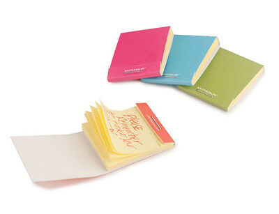 Kikkerland Writersblok Match Book Yellow Sticky Notes Set 430 Pages Wb401