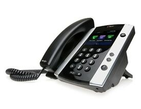 Polycom VVX 500 VOIP business media phone 12 lines