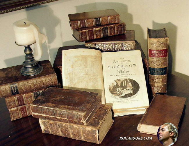 0ROGAS RARE BOOKS