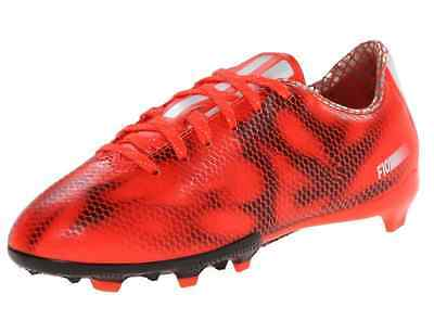 ae31fefd824a NEW - adidas Performance F10 FG J Youth Boys Solar Red Running Soccer Cleats  5