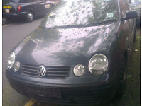VW Polo 1.0 O/S Headlight Breaking For Parts (2003)