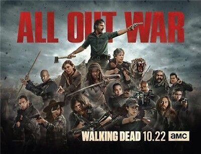 "The Walking Dead Season 8 TV Series Art Silk Poster 32""x24"" inch  002"