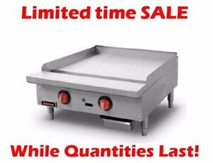 Thermostatic Gas Griddles Overstock Clear Out