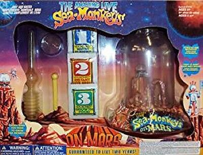 Big Time Toys Sea Monkeys On Mars Deluxe   #395695