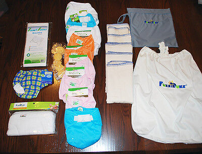 Clearance Clothes For Girls (Cloth Diaper Clearance - Great Kit for Girl Baby)