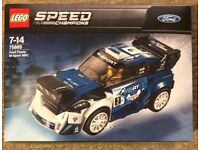LEGO Speed Champions Ford Fiesta M-Sport WRC 2018 75885 BRAND NEW SEALED
