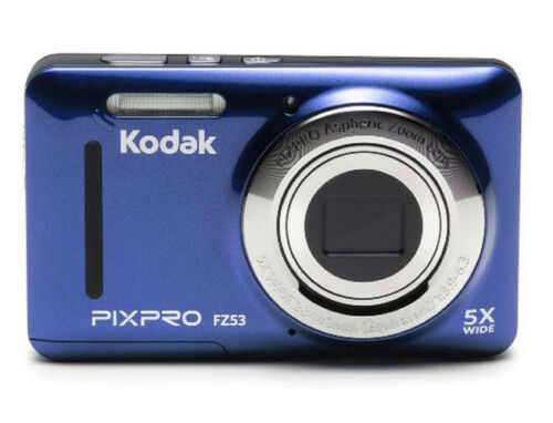 "Kodak Fz53-bl Point And Shoot Digital Camera With 2.7"" Lc..."