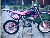 HONDA CR85 motocross bike